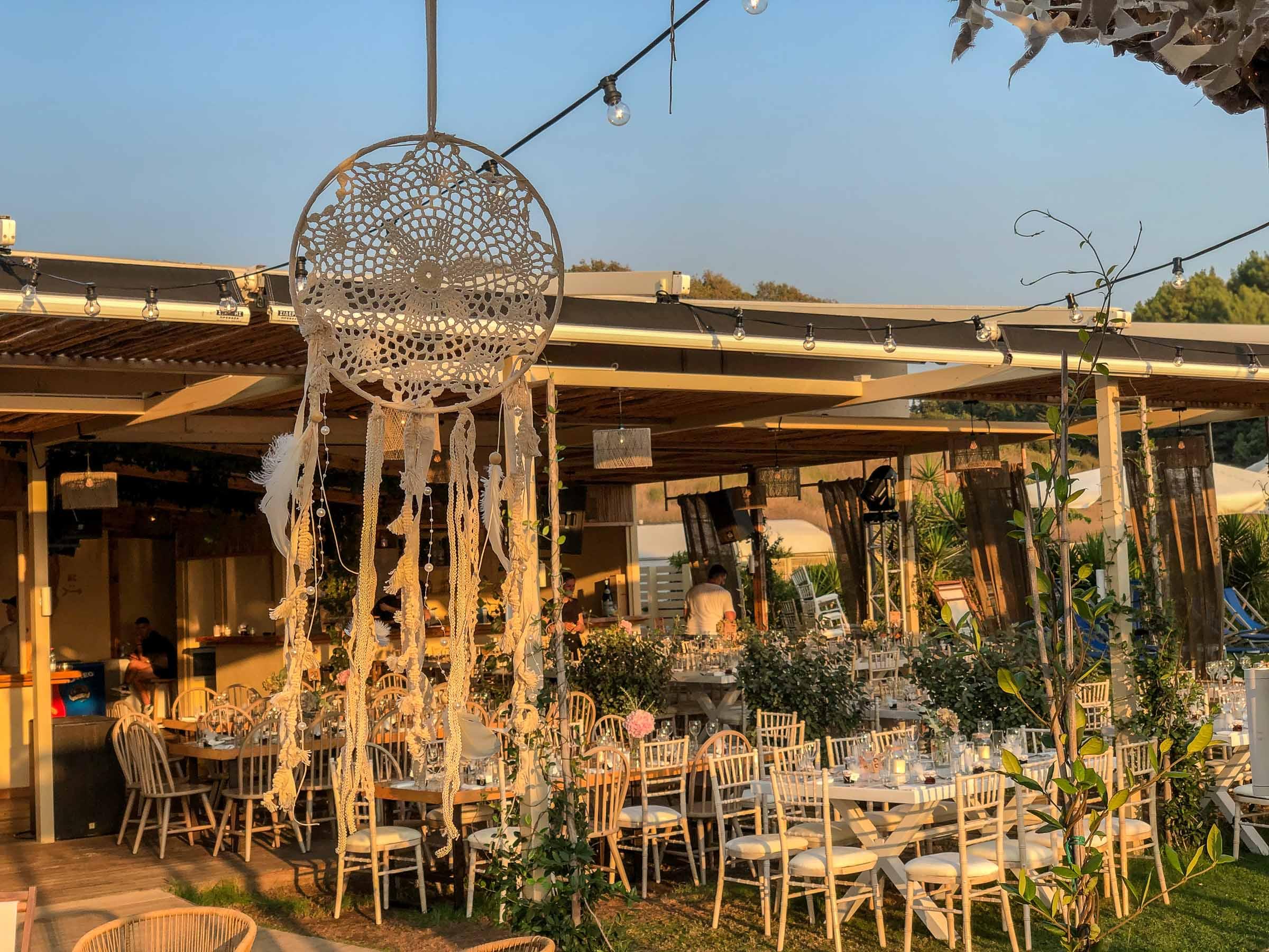 Decor in wedding event